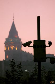 city is watching us by Pithana