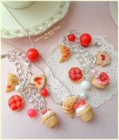 Raspberrie sweets and strawberrie Sweets! by Valentina-PinkCute