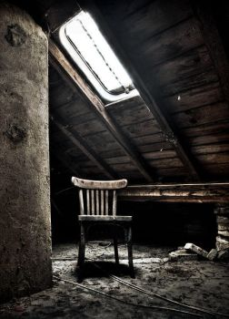 Chair in the light by stengchen