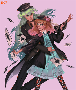 Kinikim 13 15 Ukyo And Heroine Amnesia By Dasyeeah