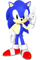 Nendoroid Sonic Render by JaysonJeanChannel