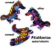 Plathavian the fake pokemon