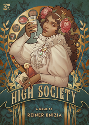 HIGH SOCIETY cover game by Reiner Knizia by Medusa-Dollmaker