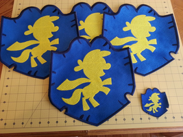 Foot Tall Cutie Mark Crusaders Patches by EthePony