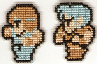 Final Fantasy Sprites 2 by Kiela-Starcatcher