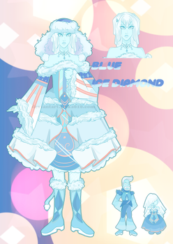 [CLOSED] Blue ice Court [Adopt] by Jaska610