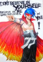 Kamina Believes by Mrew