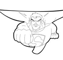 Super man inks. by chip14