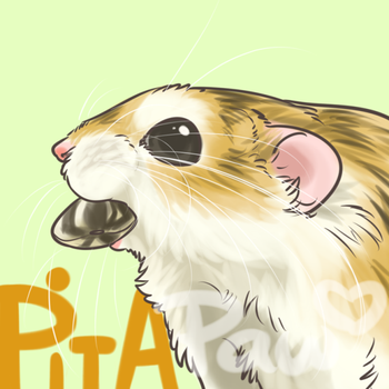 Pita profile by Pawlove-Arts