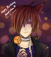 Happy Birthday/Halloween by Sealkittyy