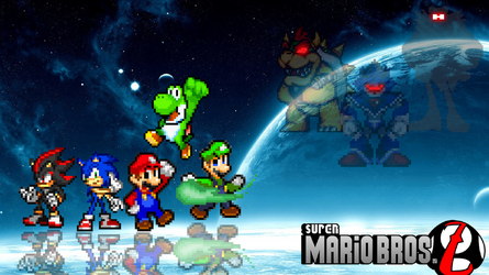 Super Mario Bros Z Wallpaper Remake. by DrizzlyScroll1996