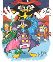 Darkwing Duck Poster Thingy by terrorthatflaps
