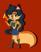 Inspector Carmelita Fox by GoldenAlpha101