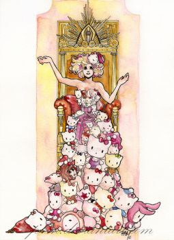 lady_gaga_queen by P4M