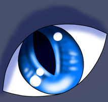 Eye of a Blue Star by MediocrePotato