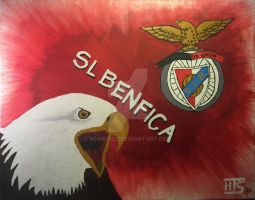 SL Benfica Aguia and Logo by Whooogo