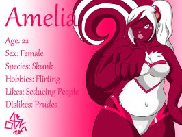 Character Profile: Amelia by 08b2