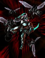 Guyver vs Enzymes by Decepticoin