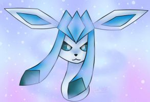 Glaceon Pokemon by Wika4007
