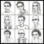 Community Cast by LoveTHYconan