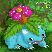 My Elite: Venusaur by ravenclawyoshi