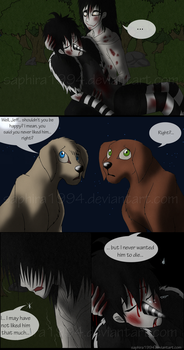 Adventures With Jeff The Killer - PAGE 21 by Sapphiresenthiss