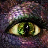 Alien Eye. by Alisha-Mordicae