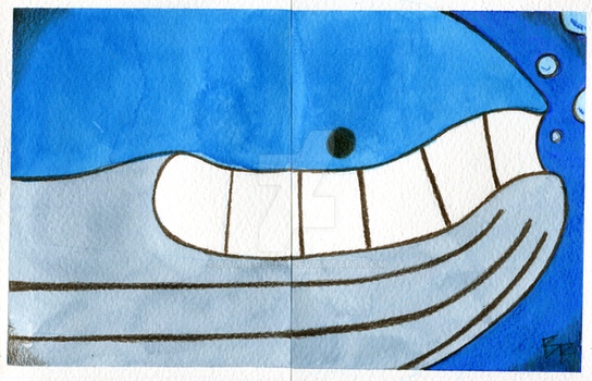 Wailord by BomberBees