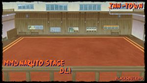 [MMD NARUTO] - Inn Town Stage DL! by blackSoul1890