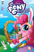 My Little Pony 68 RI Cover by MaryBellamy