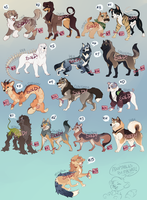 Dog Adoptables 6 [SOLD] by Machati