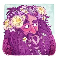 Bifur in Bloom by nerdeeart