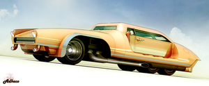 6 Wheeled coupe by aconnoll