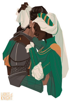 Forgetting Something? - Ladies of the Knight by FionaCreates