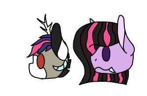 Twilight and Discord ship adopts!!! 1/2 OPEN by Petvet2004