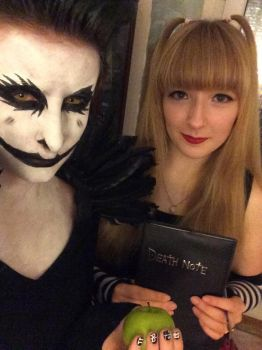 Ryuk And Misa Cosplay by Racheii