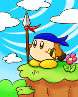 Delivery For Kirby by dreamingsandwich
