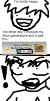 Gamerscore Power Level by Dillon-the-hedgehog
