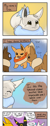 The Eevees 32: A New Point Of View by RioDiGennaio
