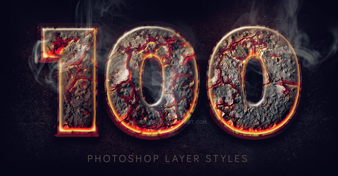 Burning text effect by Giallo86