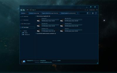 StarCraft 2 Windows Theme - less than preview by yorgash