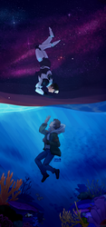 Shance Fluff Week Day 2: Sea/Stars by Cissil98