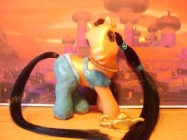 Princess Jasmine Custom MLP by bambikate