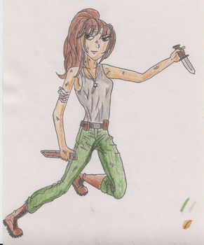 Ziva David (Coloured) by spn-rules