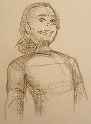 Ambrose in Pencil by curiousdoodler