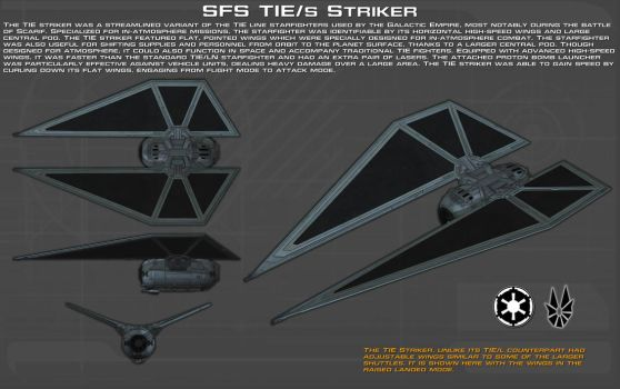 SFS TIE/s Striker ortho [1][New] by unusualsuspex