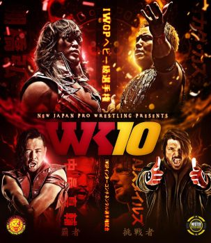 Wrestle Kingdom 10 Custom poster by THE-MFSTER-DESIGNS