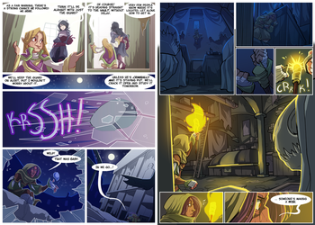 CHAPEL ALSO RAN - Chapter 2 - Page 09 + 10 by Palidoozy