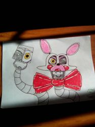 Mangle (Fnaf 2) by O-DemonKill-O