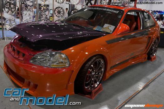 Honda Civic ll 1 Year of VT by CaponeDesign